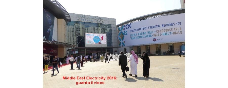 Middle East Electricity 2016, esposizione internazionale di generatori di corrente