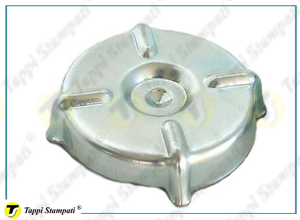 FN fuel tank plug external bayonet coupling passage diameter 31 mm in galvanised steel