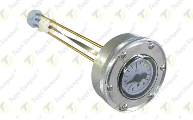 Threaded Mechanical Gauge Cap M80X2