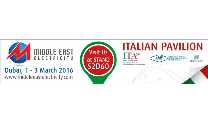 Middle East Electricity 2016: ci saremo!