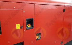 Nicchia per pulsante di emergenza per cofanatura generatore di corrente