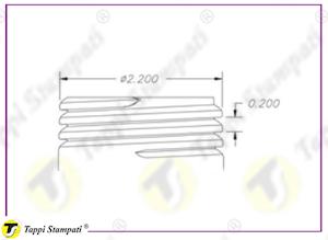 Sistema di carico per tappo indicatore di livello filettato 2