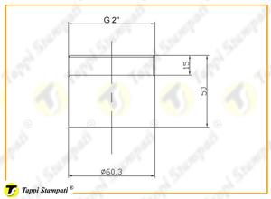 Sistema di carico per tappo serbatoio ASM.CF_disegno