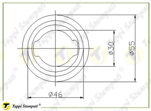 Sistema di carico per tappo serbatoio ASM.OB_disegno