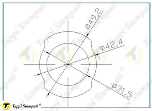 Sistema di carico per tappo serbatoio FN disegno