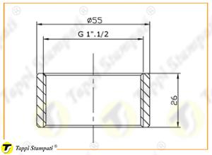 Sistema di carico per tappo serbatoio G 1