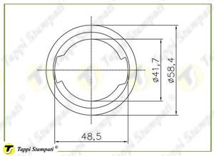 Sistema di carico per tappo serbatoio V7 S_disegno