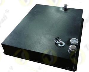 Tappo indicatore di livello meccanico E002 a baionetta passaggio 40 mm per serbatoio generatore di corrente