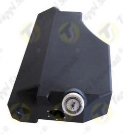 """Mechanical direct reading level gauge cap 2"""".1/4 threaded with 5 threads per inch for fuel tank"""