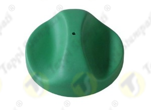 690 green tank cap bayonet coupling passage diameter 40 mm in plastic and steel