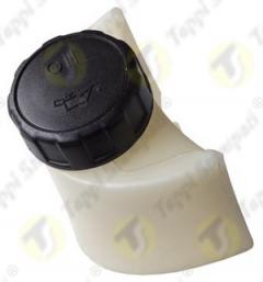 940 threaded plastic tank cap for oil