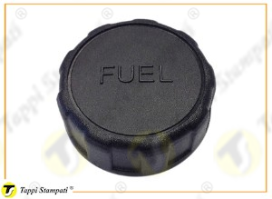 940 plastic tank cap female threaded with Fuel writing
