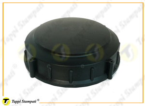 D.170 threaded tank cap in plastic material passage diameter 120 mm
