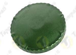 Tappo serbatoio D.60 verde a baionetta passaggio 60 mm in acciaio