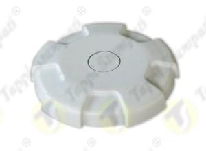 White D.76 tank cap, internal bayonet coupling passage diameter 40 mm in plastic and steel