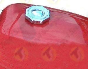 Tappo serbatoio G3 a baionetta passaggio 40 mm in acciaio e acciaio inox per serbatoio macchina agricola
