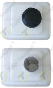 Tappo serbatoio P3 filettato in plastica passaggio 32 mm con filtro estraibile per serbatoio ausiliare