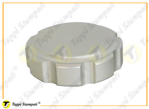 PGE female threaded fuel tank cap in aluminum passage diameter 32 mm
