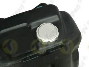 PGE threaded tank cap in aluminium passage diameter 32 mm for fuel