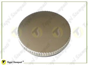 Tappo serbatoio R a baionetta interna passaggio 40 mm in acciaio e acciaio inox