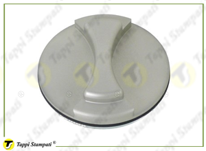 V7S aluminium bayonet filling plug for tank passage diameter 40 mm
