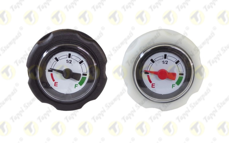 Mechanical level indicators: new dial