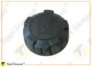 Tappo serbatoio P3 filettato passaggio 32 mm in plastica con logo olio idraulico