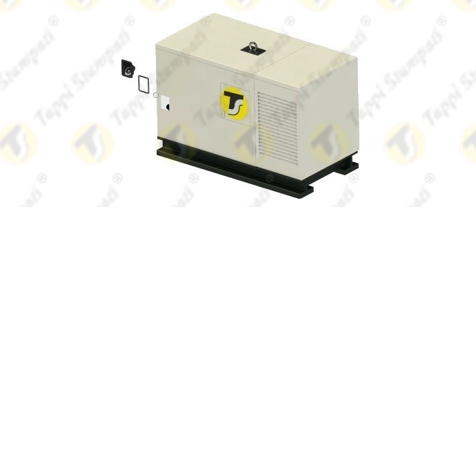 ASSEMBLY SCHEME OF BUILT-IN HOUSING FOR FUEL TANK CAP ON GENERATING SET BY THE USE OF 3D MODELING